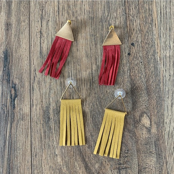 Francesca's Collections Jewelry - Fringe Earrings